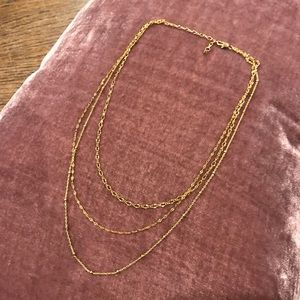 Brand New Anthropologie Layered Necklace